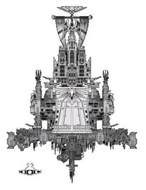 Flota Imperial Acorazado Clase Retribucion Vista Frontal Destructor Imperial Star Wars Wikihammer