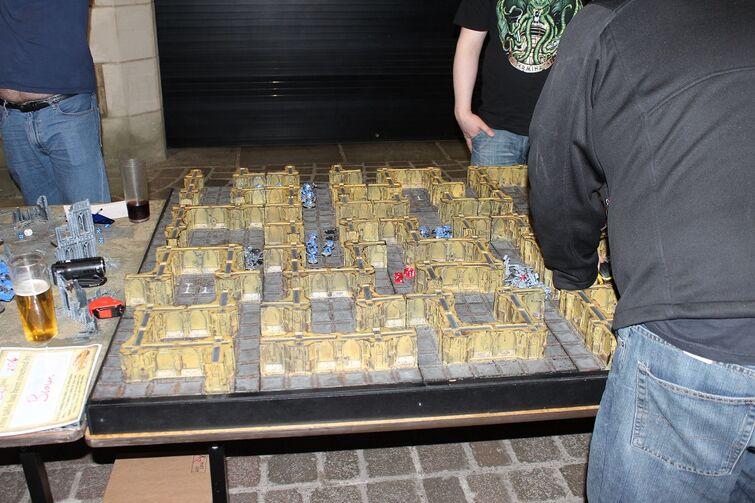 Warhammer World Nottingham Wikihammer Escenografía