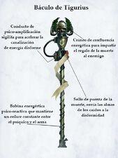 Arma báculo de tigurius