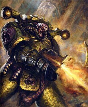 Caos guardia de la muerte ignatius grulgor corrupto