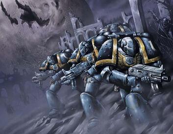 Escuadra tactica helixus ultramarines
