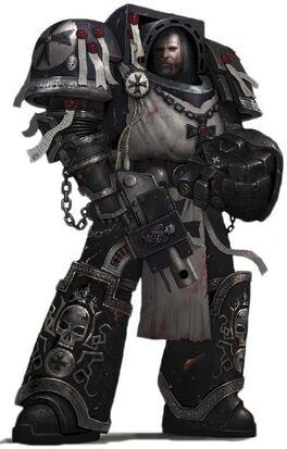 Marine templarios negros exterminador descanso