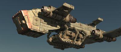 Thunderhawk Caballeros Grises Land Raider