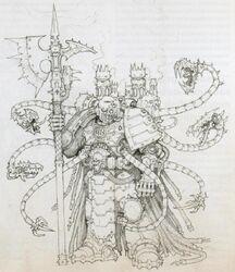 Herrero de disformidad boceto