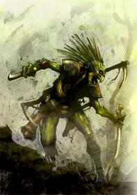 Kroot warrior