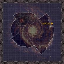Mapa Galaxia planeta Holda