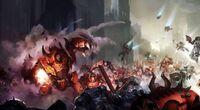 Marines angeles sangrientos compañia muerte vs caos