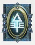 Simbolo eldar runa halcones cazadores