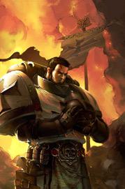 Templarios Negros Hermano de Batalla Gerhart Marines Espaciales Astartes Warhammer 40K Wikihammer
