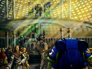 Templo de la Corrección Fortaleza de Hera Macragge