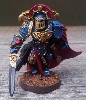 Ultramarines Capitán MkIII Herejía de Horus
