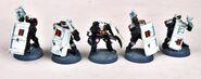 Arbitradores escudos miniatura