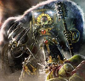 Caos Horus herejia garra combate