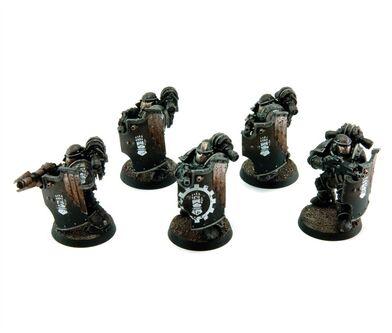 Escuadra de rompedores de Asedio Wikihammer 40K
