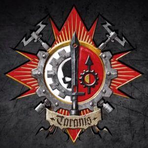 Emblema Caballeros de Taranis Adeptus Mechanicus