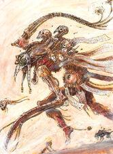 Arcoflagelante por John Blanche Warhammer 40000