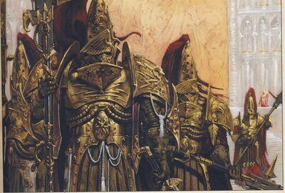 Imperio custodios palacio imperial