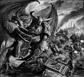 Principe demonio Marines espaciales Caos