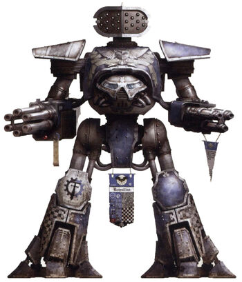 Titán Reaver de la Legio Tempestor 2