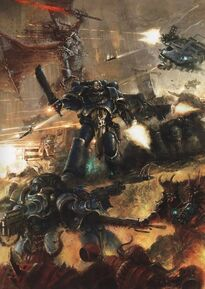 Ultramarines vs Marines Espaciales del Caos