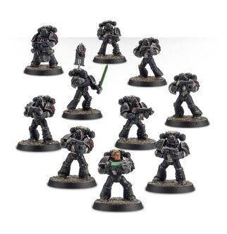 Escuadra Táctica Veterana Mk. IV Maximus Legión Ángeles Oscuros