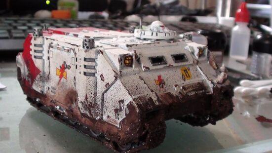 Rhino Cicatrices Blancas Herejía Warhammer 40k wikihammer