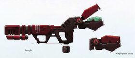 Rifle ionico
