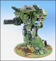 Titan Warlord miniatura wikihammer