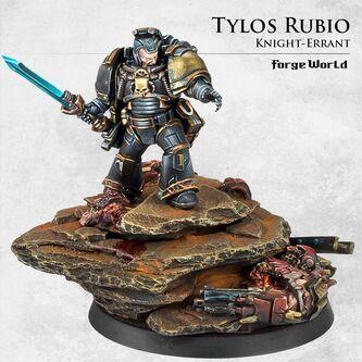 Tylos Rubio Bibliotecario Ultramarines Caballeros Errantes Forge World miniatura