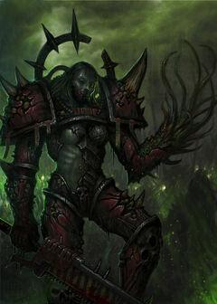 Caos nurgle guerrera mutante
