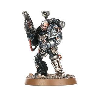Ennox Sorrlock Manos de Hierro Guardianes de la Muerte