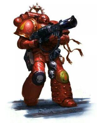 Marines astartes rifle fusion