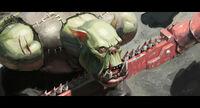 Ork prisoner