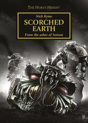 Scorched Earth Novela Corta Portada Herejía Horus