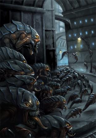 Tiranidos enjambre tiranido ciudad colmena