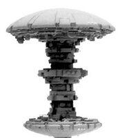 Estación Orbital T'au BFG Forge World miniatura