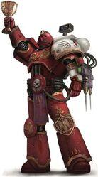 Marine sacerdote sanguinario angeles sangrientos grial rojo