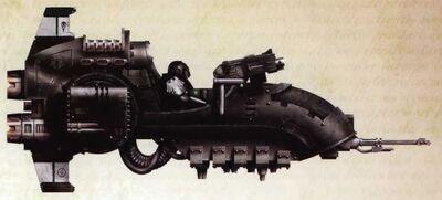Vehiculo deslizador de ataque javelin