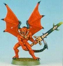 Angron Primarca Demonio Devoradores de Mundos Khorne Epic miniatura