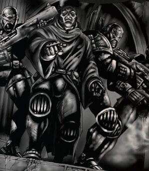 Arbites escuadra divisio immoralis