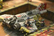 Miniatura Thunderbolt Personal de Tierra Mision Aeronaves Armada Imperial Wikihammer