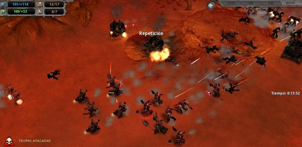 30 Acosados por los supervivientes, los asaltantes del Caos deben retirarse o morir.