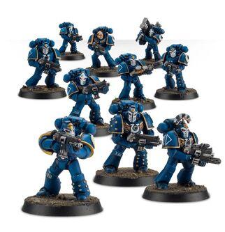 Escuadra Táctica Veterana Mk. IV Maximus Legión Ultramarines