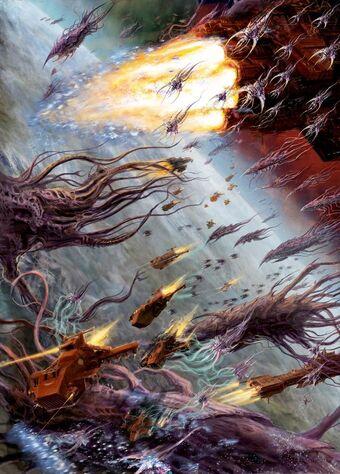 Marines angeles sangrientos desgarradores carne vs flota enjambre