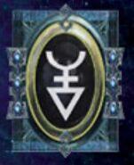Simbolo eldar runa maugan ra y segadores siniestros