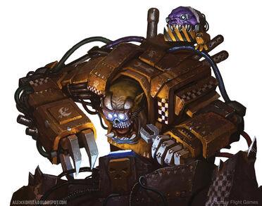 Warhammer 40k Gran Mekániko by akonstad-d5scts2