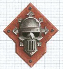 Caos simbolo guerreros de hierro