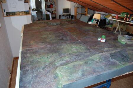 Pintura tablero modular 09