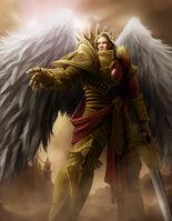Primarca Sanguinius el ángel de Baal