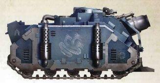 Vehiculo vindicator modelo Deimos Legion Alfa